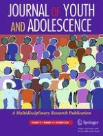 Journal of Youth and Adolescence 10/2018
