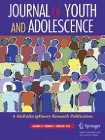 Journal of Youth and Adolescence 2/2018
