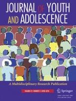 Journal of Youth and Adolescence 4/2018