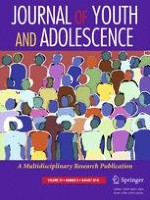 Journal of Youth and Adolescence 8/2018
