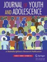 Journal of Youth and Adolescence 9/2018