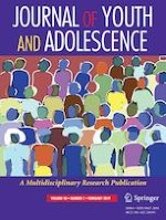 Journal of Youth and Adolescence 2/2019