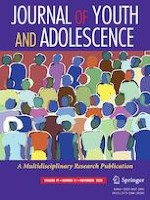 Journal of Youth and Adolescence 11/2020