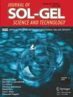 Journal of Sol-Gel Science and Technology 1/2008
