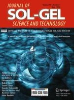 Journal of Sol-Gel Science and Technology 1/2016