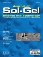 Journal of Sol-Gel Science and Technology 1/2017