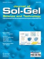 Journal of Sol-Gel Science and Technology 3/2018