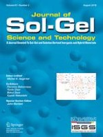 Journal of Sol-Gel Science and Technology 2/2018