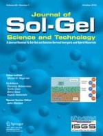 Journal of Sol-Gel Science and Technology 1/2018