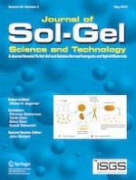 Journal of Sol-Gel Science and Technology 2/2019