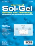 Journal of Sol-Gel Science and Technology 1/2019