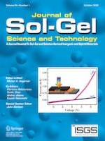 Journal of Sol-Gel Science and Technology 1/2020