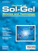 Journal of Sol-Gel Science and Technology 2/2021