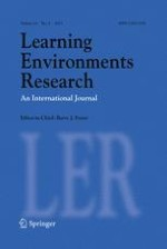 Learning Environments Research 3/2011