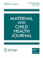 Maternal and Child Health Journal 1/2006