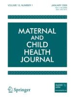 Maternal and Child Health Journal 1/2009