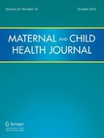 Maternal and Child Health Journal 10/2016