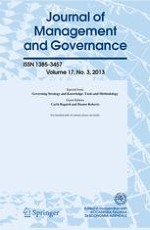 Journal of Management and Governance 1/1997