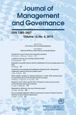Journal of Management & Governance 4/2010