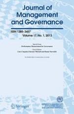Journal of Management & Governance 1/2013