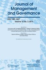 Journal of Management and Governance 3/2014