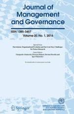Journal of Management & Governance 1/2016