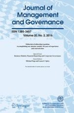 Journal of Management and Governance 2/2016