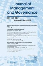 Journal of Management & Governance 4/2017