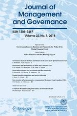 Journal of Management and Governance 1/2018