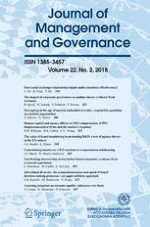Journal of Management and Governance 2/2018