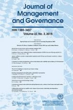 Journal of Management and Governance 3/2018