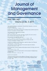Journal of Management and Governance 3/2019