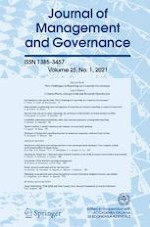 Journal of Management and Governance 1/2021