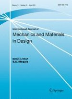 International Journal of Mechanics and Materials in Design 2/2015