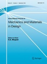 International Journal of Mechanics and Materials in Design 3/2016