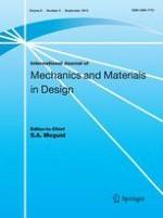 International Journal of Mechanics and Materials in Design 3/2013