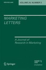 Marketing Letters 3/2001