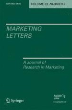 Marketing Letters 3/2012