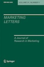 Marketing Letters 1/2020