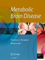 Metabolic Brain Disease 1/2012