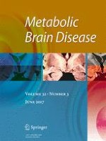 Metabolic Brain Disease 3/2017