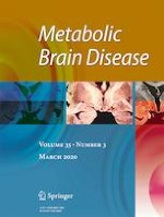 Metabolic Brain Disease 3/2020