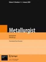 Metallurgist 1-2/2009