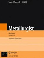 Metallurgist 3-4/2013