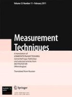 Measurement Techniques 11/2011