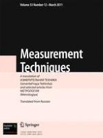 Measurement Techniques 12/2011