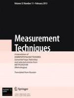 Measurement Techniques 11/2013