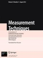 Measurement Techniques 5/2012