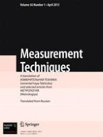 Measurement Techniques 1/2013