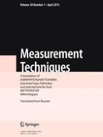 Measurement Techniques 1/2015